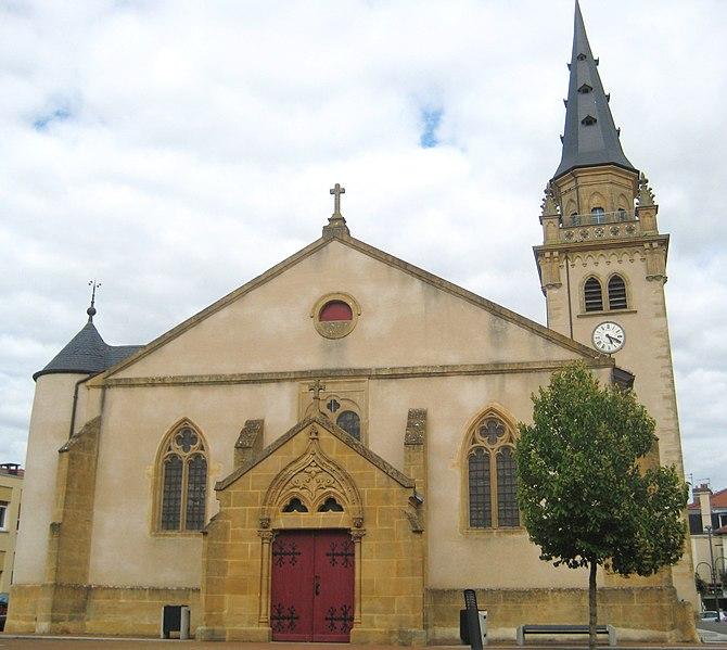 Photo du Monument Historique Eglise situé à Jarny