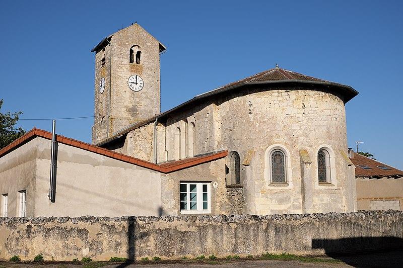 Photo du Monument Historique Eglise de Puxe situé à Laloeuf