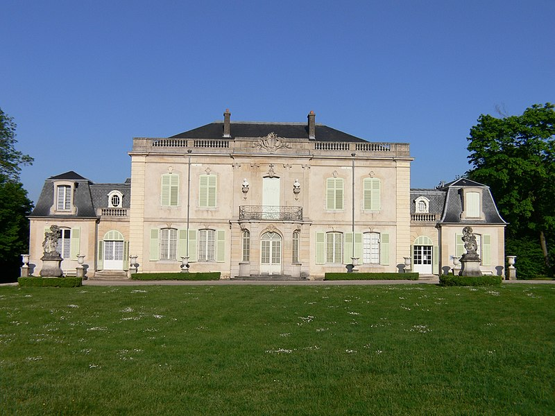Photo du Monument Historique Château de Montaigu situé à Laneuveville-devant-Nancy