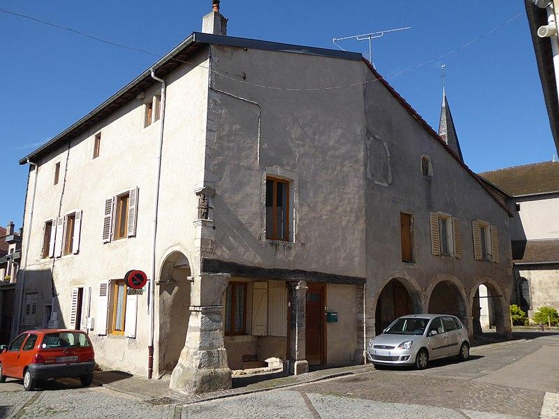 Photo du Monument Historique Maison dite Maison Benoît situé à Liverdun