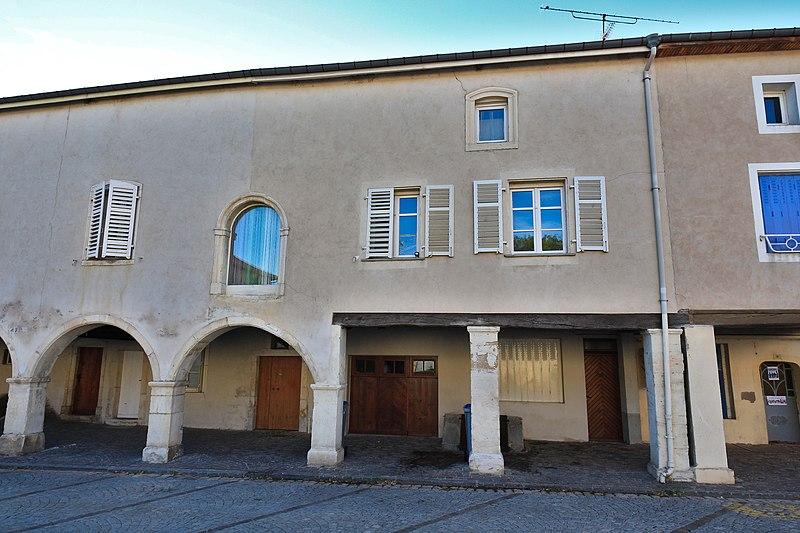 Photo du Monument Historique Maison dite Maison Weisberger situé à Liverdun