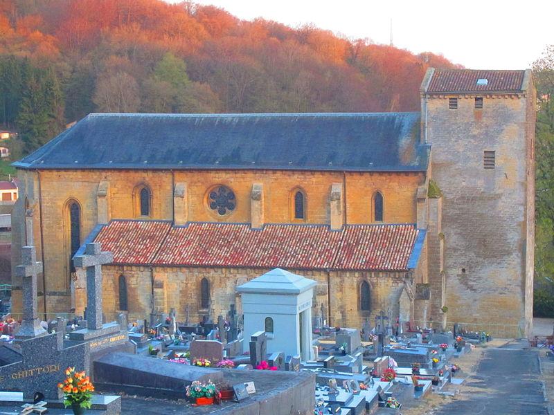 Photo du Monument Historique Eglise Sainte-Agathe situé à Longuyon