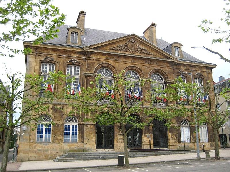 Photo du Monument Historique Hôtel de ville situé à Longwy