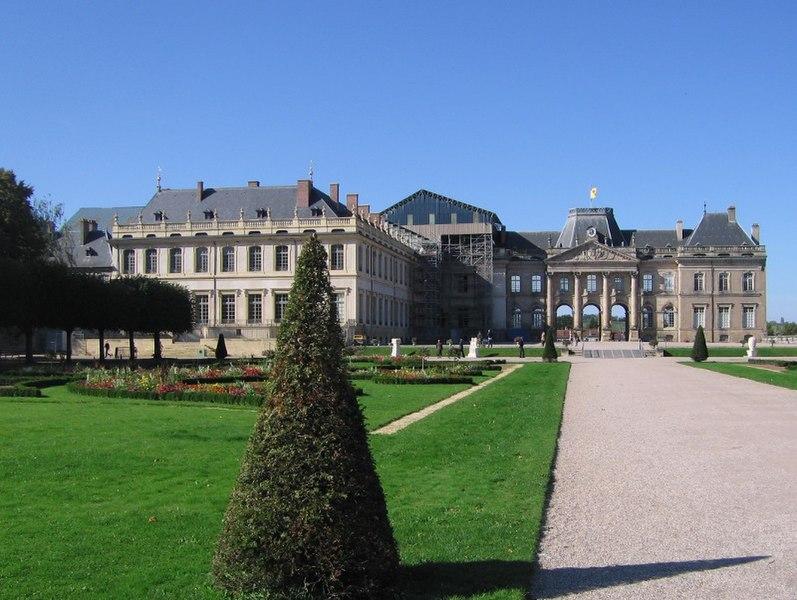 Photo du Monument Historique Domaine du château situé à Lunéville