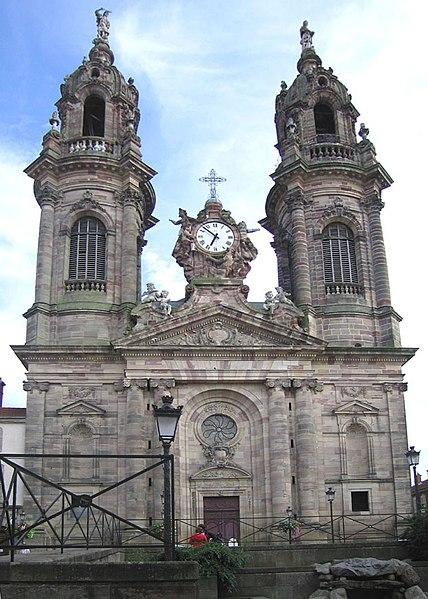 Photo du Monument Historique Eglise Saint-Jacques situé à Lunéville
