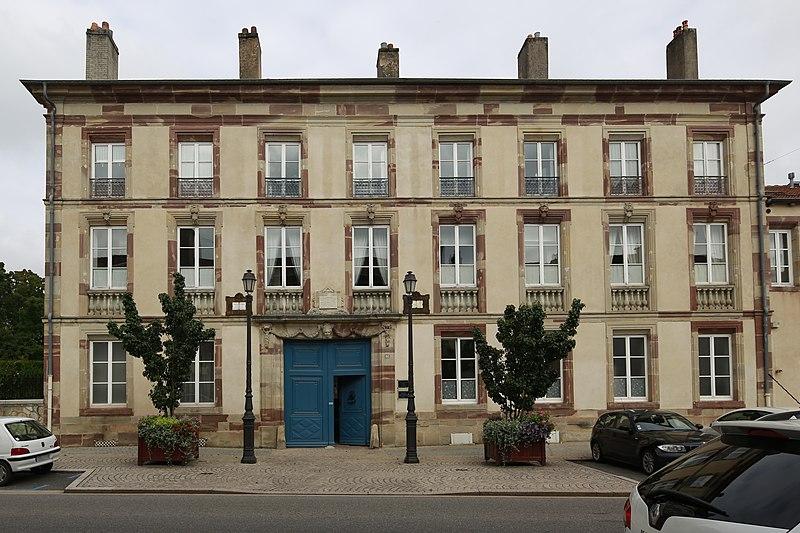 Photo du Monument Historique Immeuble situé à Lunéville