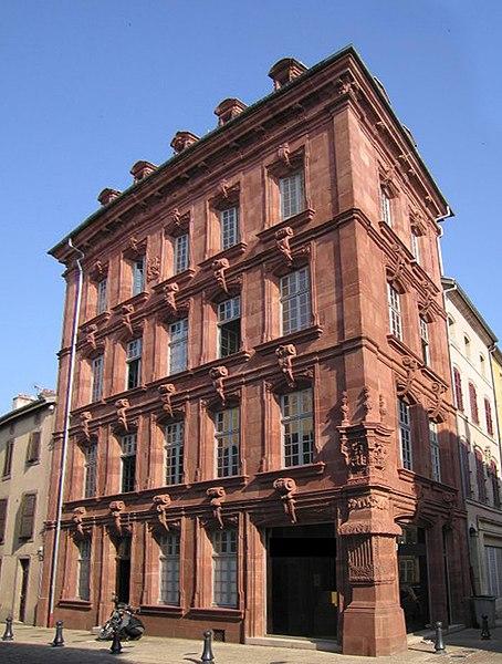Photo du Monument Historique Maison du Marchand situé à Lunéville