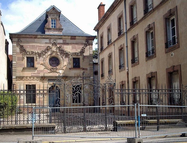 Photo du Monument Historique Synagogue situé à Lunéville
