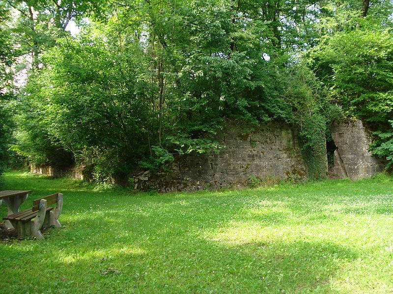 Photo du Monument Historique Poste de secours dit de Manonvillers£ situé à Manonviller