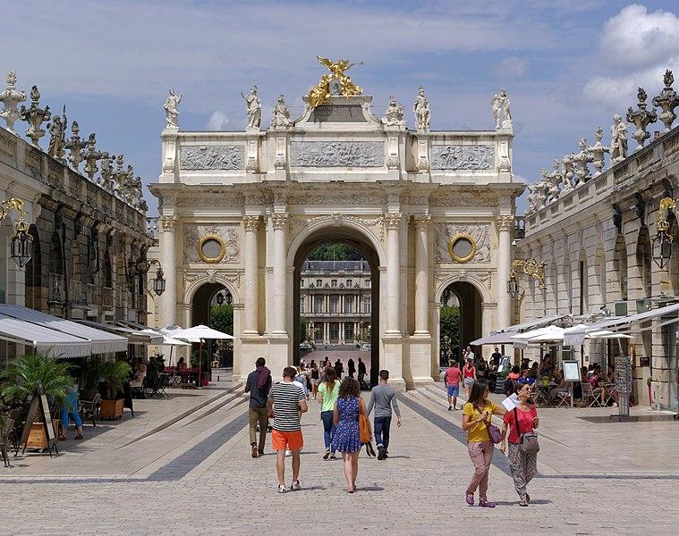 Photo du Monument Historique Ensemble formé par la place Stanislas, la rue Héré et la place de la Carrière situé à Nancy
