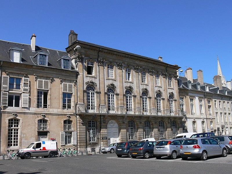 Photo du Monument Historique Bourse des Marchands situé à Nancy