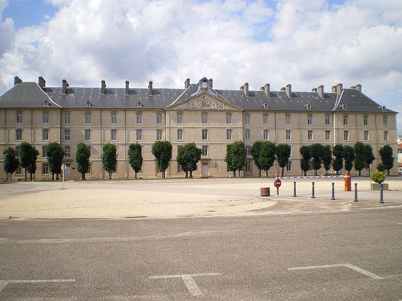 Photo du Monument Historique Caserne Thiry situé à Nancy