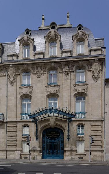 Photo du Monument Historique Immeuble de la Chambre de Commerce et d'Industrie de Meurthe-et-Moselle situé à Nancy