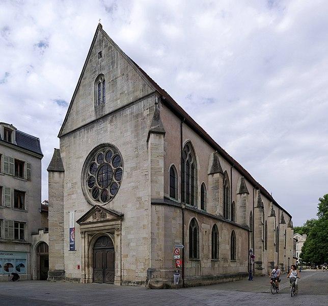 Photo du Monument Historique Ensemble immobilier de l'ancien couvent des Cordeliers situé à Nancy