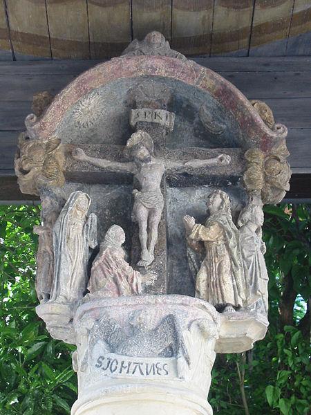 Photo du Monument Historique Croix en pierre dite Croix-Gagnée situé à Nancy