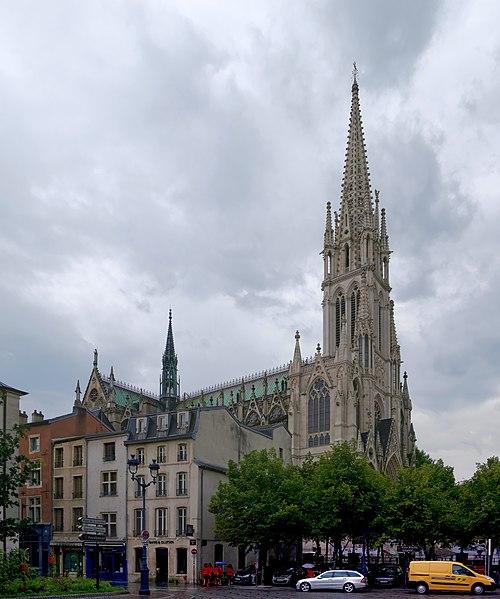 Photo du Monument Historique Basilique Saint-Epvre situé à Nancy