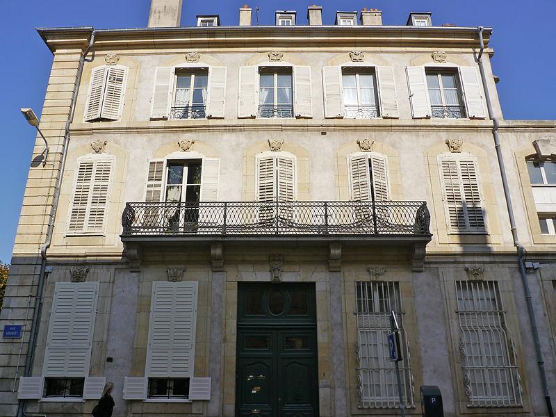 Photo du Monument Historique Hôtel d'Alsace situé à Nancy
