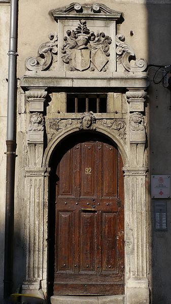 Photo du Monument Historique Hôtel de Chastenoy situé à Nancy