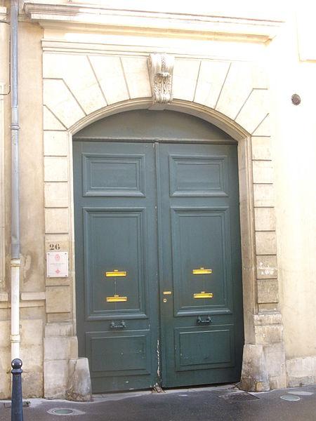 Photo du Monument Historique Hôtel de Hautoy situé à Nancy