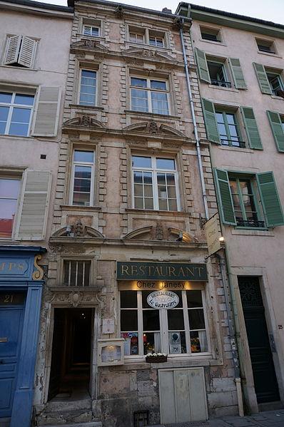 Photo du Monument Historique Hôtel de Ligniville situé à Nancy