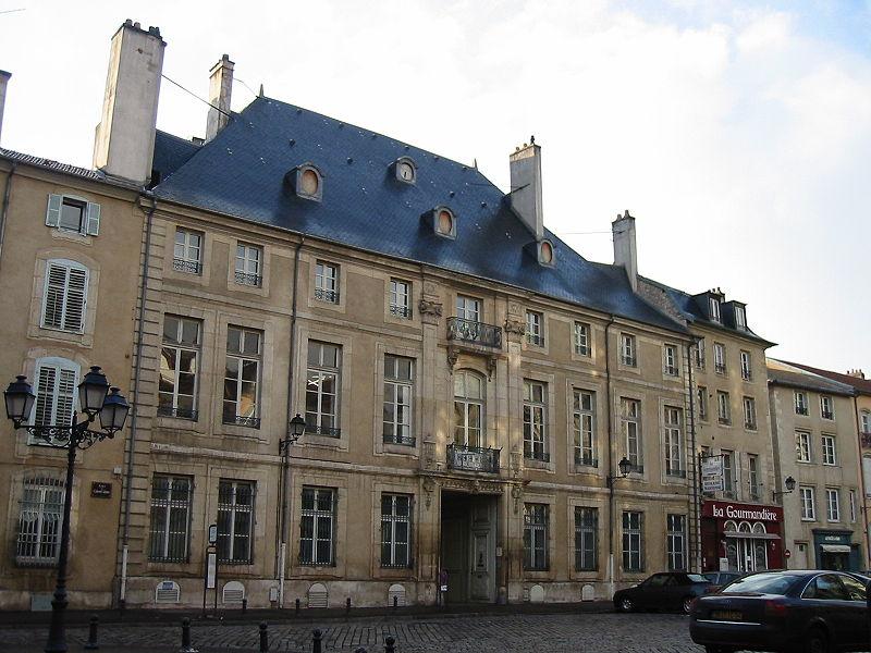 Photo du Monument Historique Hôtel de Ludres ou Hôtel des Custines situé à Nancy