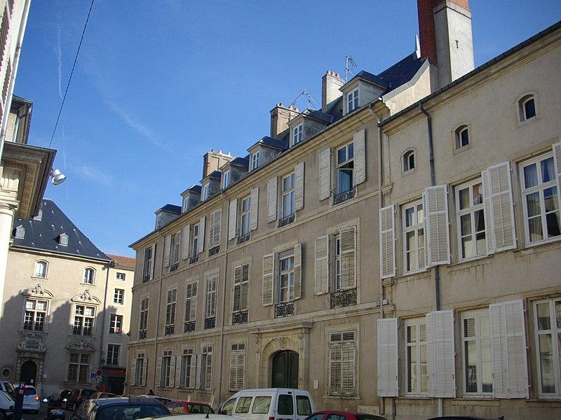 Photo du Monument Historique Hôtel du Marquis de Ville situé à Nancy