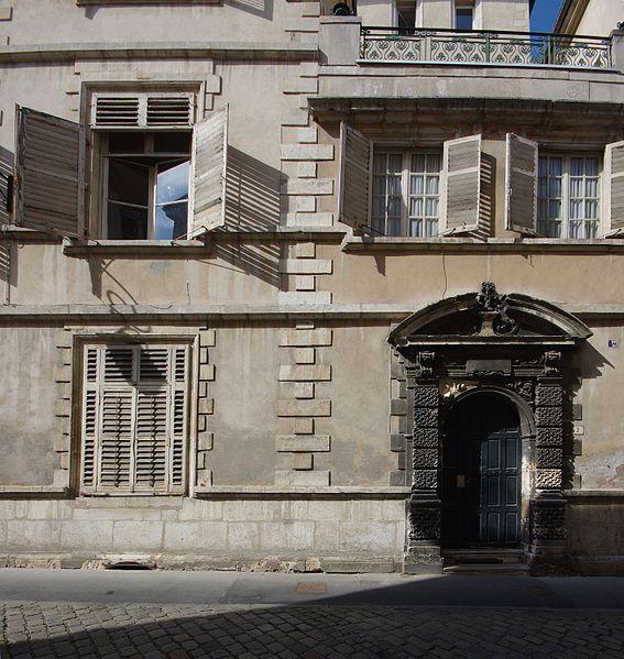 Photo du Monument Historique Hôtel de Martigny situé à Nancy