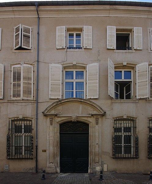 Photo du Monument Historique Hôtel de Spada situé à Nancy