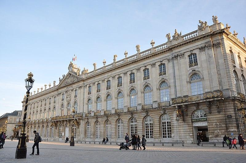 Photo du Monument Historique Hôtel de ville situé à Nancy