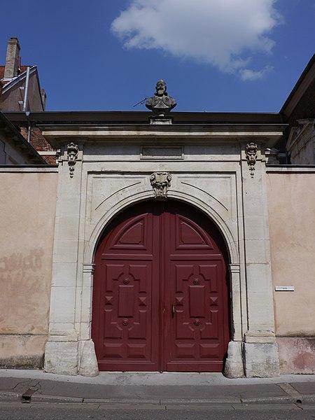 Photo du Monument Historique Hôtel situé à Nancy
