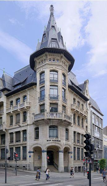 Photo du Monument Historique Ancienne banque Renauld situé à Nancy
