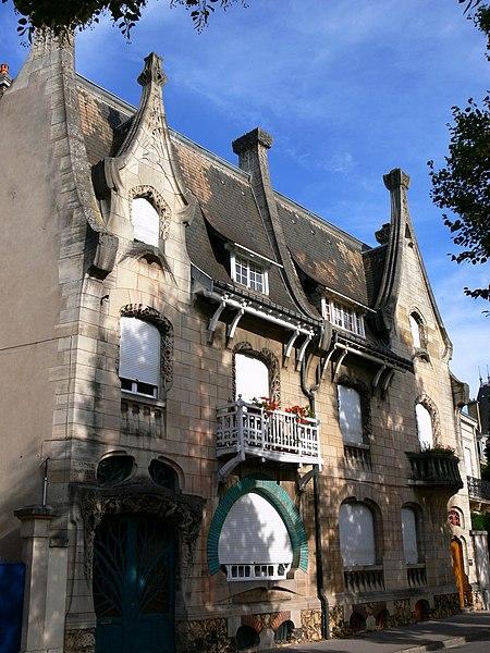 Photo du Monument Historique Maison Huot situé à Nancy
