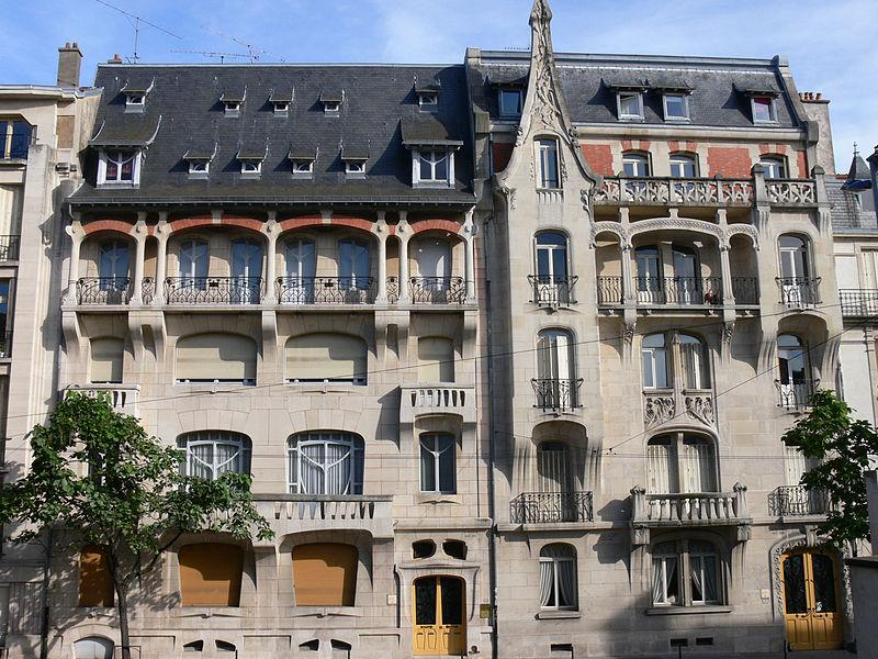Photo du Monument Historique Immeuble France-Lanord situé à Nancy