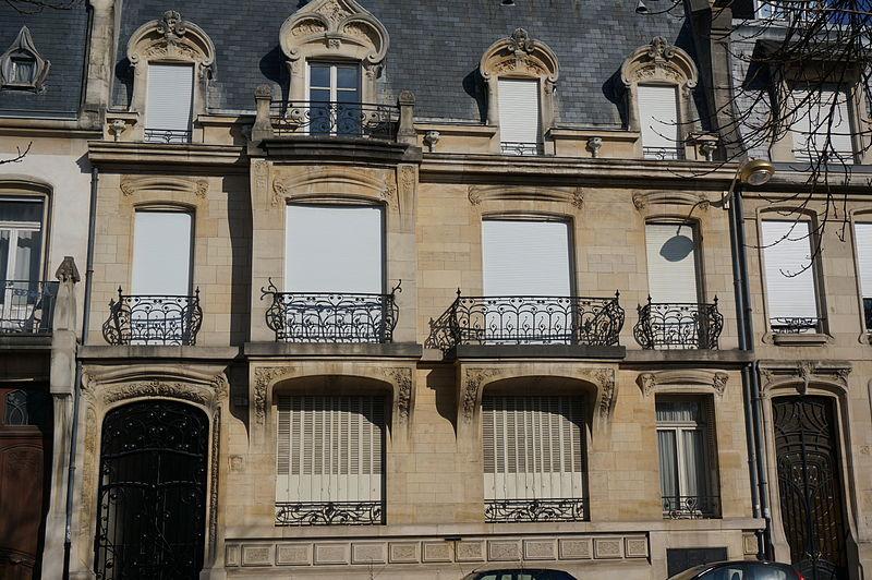 Photo du Monument Historique Immeuble dit Maison Bloch situé à Nancy