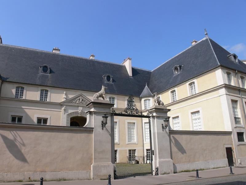 Photo du Monument Historique Immeuble, dit Hôtel des Loups ou Hôtel de Curiel situé à Nancy
