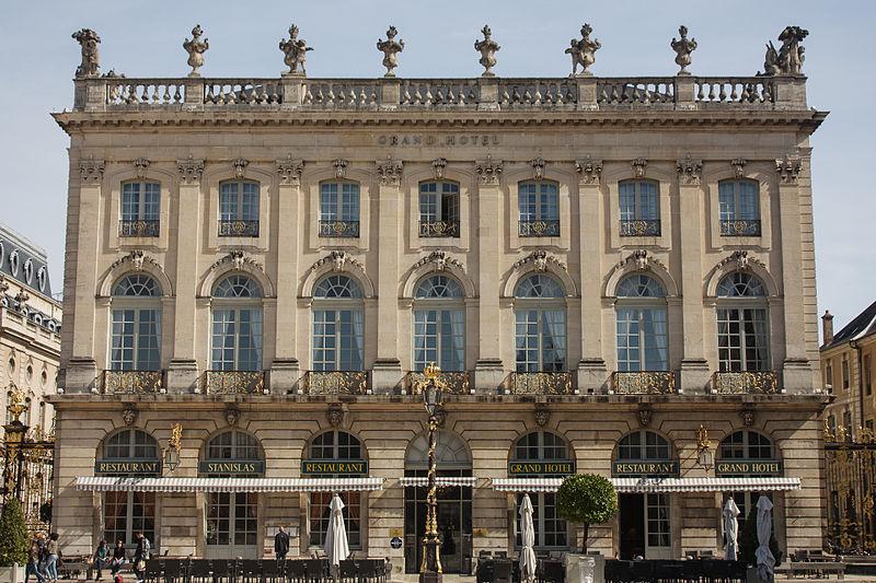 Photo du Monument Historique Immeuble, dit hôtel Alliot situé à Nancy