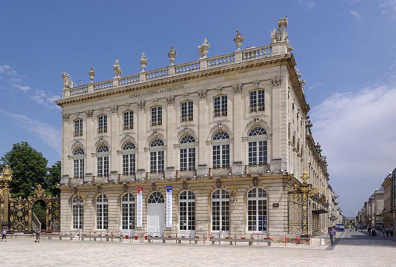Photo du Monument Historique Opéra - théâtre situé à Nancy