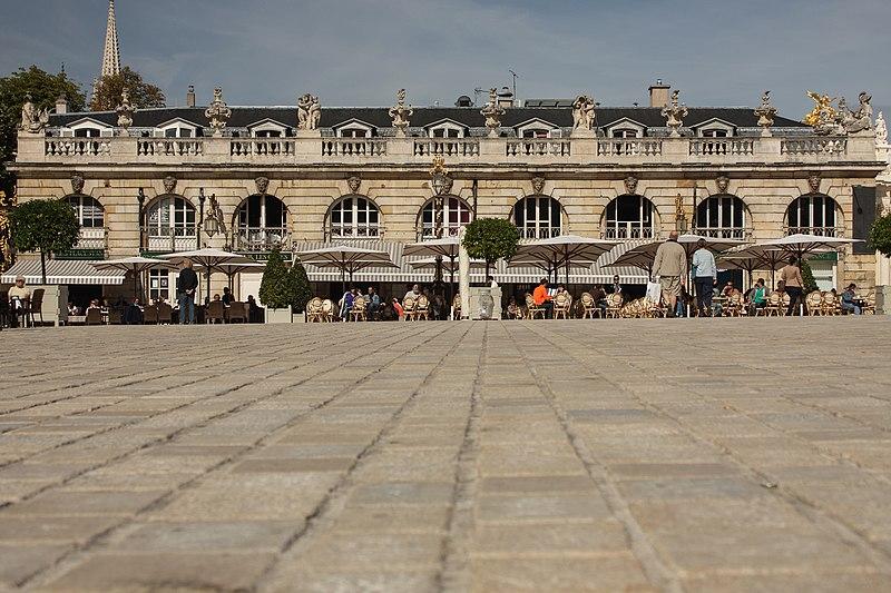 Photo du Monument Historique Immeubles situé à Nancy