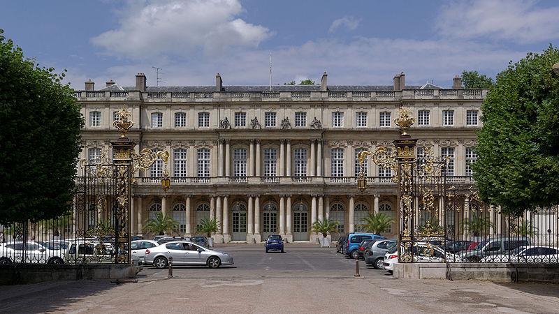 Photo du Monument Historique Ensemble immobilier du palais du Gouvernement situé à Nancy