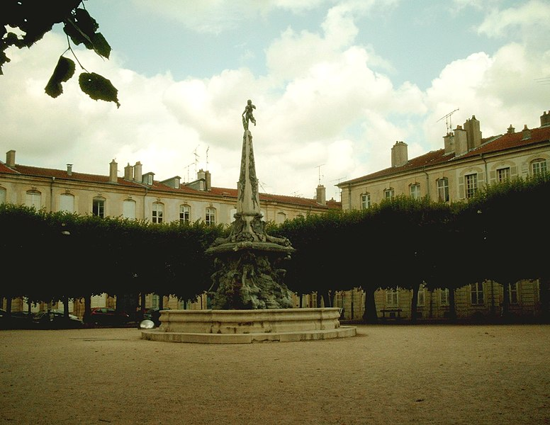 Photo du Monument Historique Place d'Alliance situé à Nancy