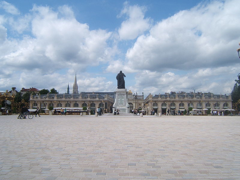 Photo du Monument Historique Place Stanislas situé à Nancy