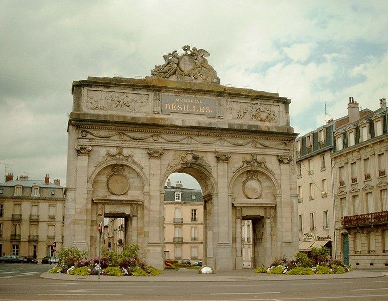 Photo du Monument Historique Porte Desilles situé à Nancy