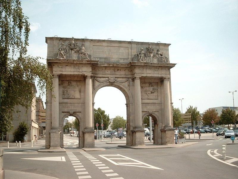 Photo du Monument Historique Porte Sainte-Catherine situé à Nancy