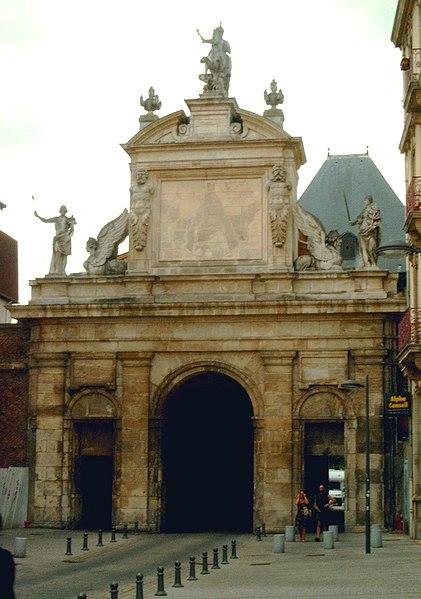 Photo du Monument Historique Porte Saint-Georges situé à Nancy