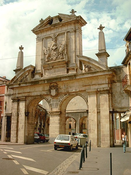 Photo du Monument Historique Porte Saint-Nicolas situé à Nancy