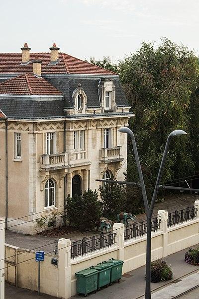 Photo du Monument Historique Villa Bonnabel situé à Nancy
