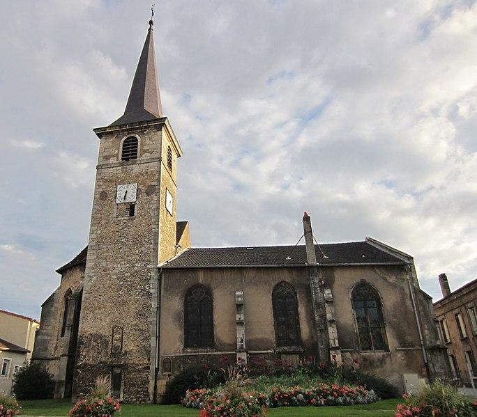 Photo du Monument Historique Eglise Saint-Martin situé à Pagny-sur-Moselle