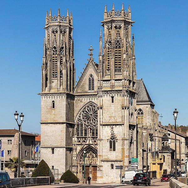 Photo du Monument Historique Eglise Saint-Martin situé à Pont-à-Mousson