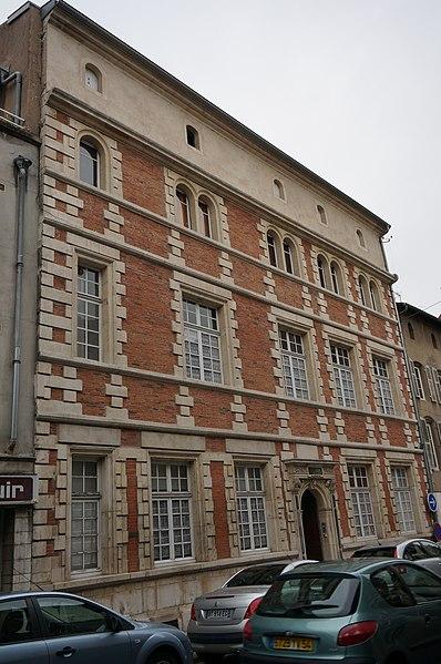 Photo du Monument Historique Immeuble situé à Pont-à-Mousson