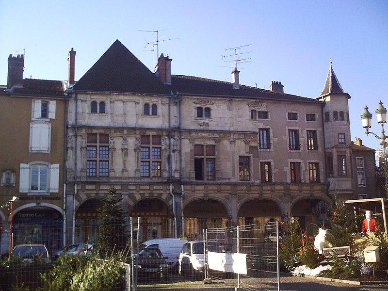 Photo du Monument Historique Maison des Sept Péchés Capitaux situé à Pont-à-Mousson